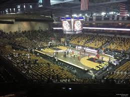 Cfe Arena Seating Chart Addition Financial Arena Section 205 Rateyourseats Com