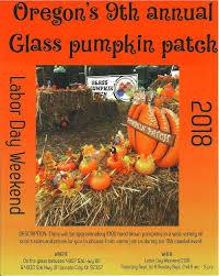 oregon s 9th annual glass pumpkin patch