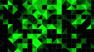 Green And Black Design Triangle Polygon Background Pattern Black And Green Triangle Polygon