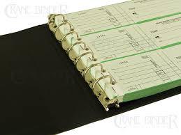 checkbook binder turned edge 7 ring business check binder 3 checks per page
