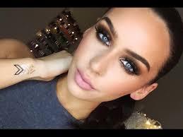 grunge glam makeup tutorial
