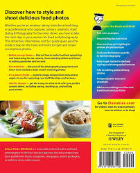 Food Styling and Photography For Dummies: Alison Parks-Whitfield:  9781118097199: Amazon.com: Books