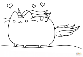 Cat Coloring Pages Cute Best Of Anime Kitten Chronicles Network