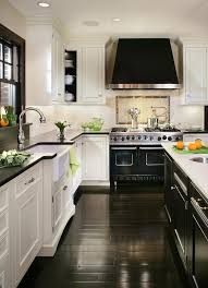 white kitchen dark wood floor. White Kitchen With Dark Wood Floor Designs From @hgsphere F