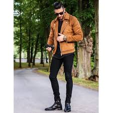 brown leather jackets 32