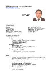 Picture On Resume Philippines Therpgmovie