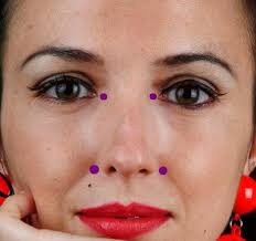 Facial Rejuvenation Cosmetic Acupuncture Points Chart Acupressure Points For Healthy Skin Facial Acupressure