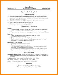 Sample Grill Cook Resume Prep Cook Resume Sample 7 Medmoryapp Com In Skills Floating City Org