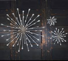 Small Silver Starburst Wall Art. SKU #33616. 7