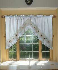 Strawberry Kitchen Curtains Aliexpresscom Buy Strawberry Embroidery Curtains Valance Swag