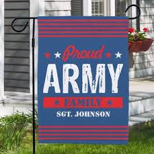 military garden flag personalized garden flags