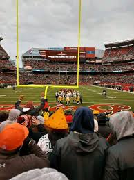 Firstenergy Stadium Section 120 Home Of Cleveland Browns