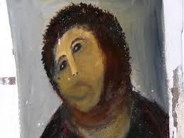 """El """"Ecce Homo"""", una pintura mural de Elías <b>García Martínez</b> que se encuentra <b>...</b> - restauracion1"""