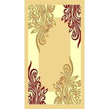 red and gold rug area rugs modern border vines solid beige center ivory bath red and gold rug