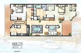 Decoration 40 Rendered Watercolor Floor Plan Co Home Plans With Custom Home Plans With Interior Photos