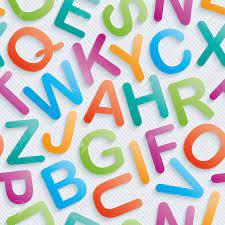 Colorful Alphabet Wallpaper. Seamless ...