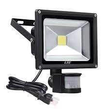 Outdoor Led Motion Lights Classy LTE 32W LED Motion Sensor Floodlight Outdoor Plug In Security Flood