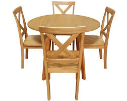 hamilton round drop leaf dining table and chairs