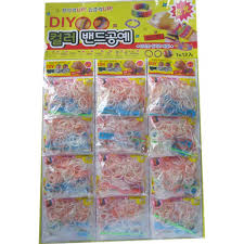 diy rubber band bracelet loom bracelet refills children toy gift 12 plastic bags kit with free delivery magetoy com