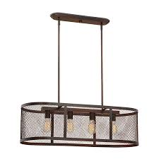 millennium lighting akron 36 in w 4 light rubbed bronze kitchen island light