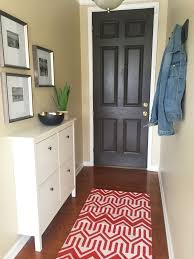 narrow entryway makeover cheap entryway furniture