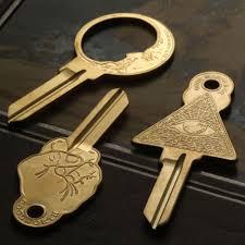 Cool designer key blanks