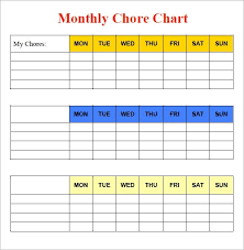 Chore Lists For Teens 28 Unique Chore Chart Template For Teenagers