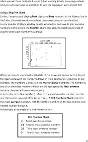 Lotto Master Formula V1 3 The Formula Used By Lottery