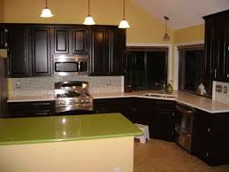 refinishing stained kitchen cabinets