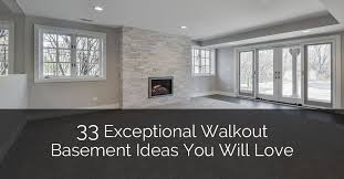 Design My Basement Interesting 48 Exceptional Walkout Basement Ideas You Will Love Home