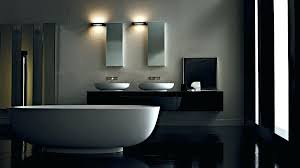 white bathroom lighting. Bathroom Light Bars Charming Contemporary Lighting Fixtures Vanity Bar White Bathtub And Sink Faucet Wall Lamps Mirror Black Floor T