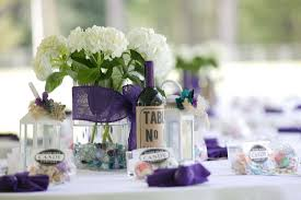 Small Picture Wedding Decoration Endearing Image Of Purple Wedding Design And