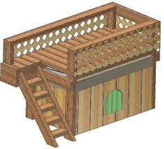 CAD Designed Insulated Dog House Plans  Large breed weatherproof w    doghouse plans