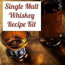 distillers single malt whiskey recipe
