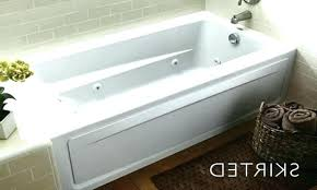 acrylic non whirlpool bathtub in white best rated bathtubs