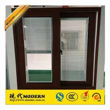 office sliding window. Plain Sliding China MODERN Brand Wood Color Aluminum Horizontal Sliding Windows With  Magnet Blinds Office Wi And Office Sliding Window