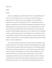 metamorphosis metamorphosis reader response english period  2 pages respect essay