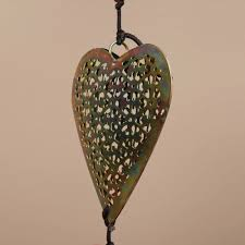 Handmade Iron and Glass Hearts Hanging Art (India) - Free Shipping On  Orders Over $45 - Overstock.com - 14071737