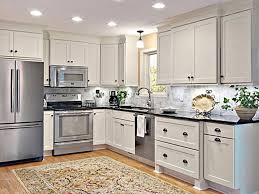paint and refinish cabinets with our spray method