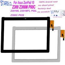 10.1 Cho Asus ZenPad 10 Z300 Z300M P00C Z301ML Z301MFL P00L Z300C P028 P01T  Bộ Số Hóa Màn Hình Cảm Ứng Bảng Điều Khiển Cảm Biến Máy Tính Bảng một Phần