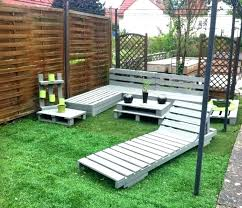 Garden Furniture From Wooden Pallets Pallet Lawn Furniture Wooden