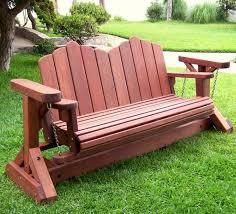 adirondack glider bench adirondack