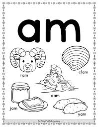 These worksheets can be used in conjunction with the videos and quizzes of this website. Am Word Family Worksheets Kindergarten Mom