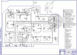 Курсовые и дипломные проекты по электроснабжению Чертежи РУ Дипломный проект Электроснабжение машиностроительного завода