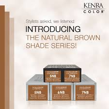 Stylists The New Kenra Color Natural Brown Shades Series Is