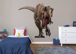 t rex jurassic world fallen kingdom huge officially licensed removable wall decal