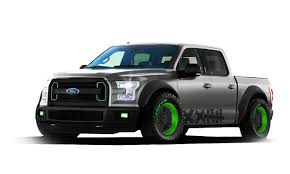 ford trucks 2015. 2015 ford f150 vaughn gittin jr sema truck trucks