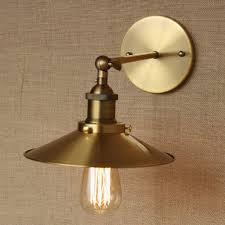 affordable bathroom lighting. Industrial Antique Umbrellashaped Gold Metal Adjust Wall Lamp For Workroom Bathroom Vanity Lights Affordable Lighting O