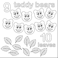 Coloring Numbers 1 10 Number Coloring Pages 1 Print Numbers Make A ...