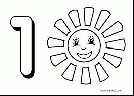 Small Picture Number Coloring Pages For Toddlers olegandreevme